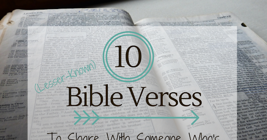 10 Bible Verses to Share With Someone Who's Celebrating (or Struggling)