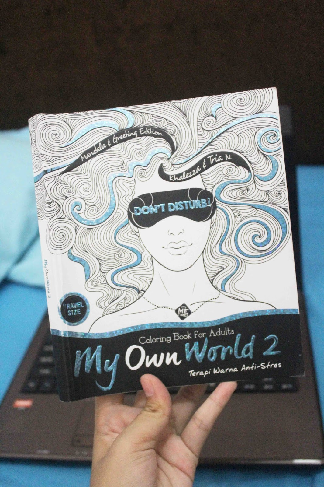 Coloring Book For Adults My Own World 2