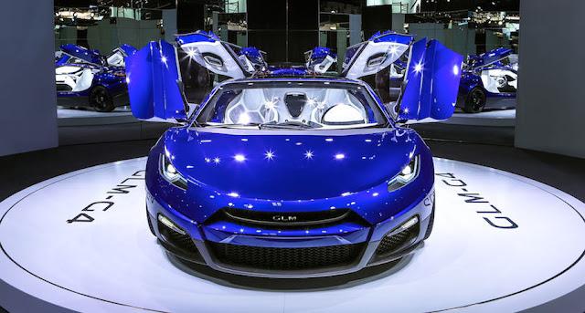 GLM、次世代の国産EVスーパーカー「G4」などを香港で披露へ!世界展開を視野に。