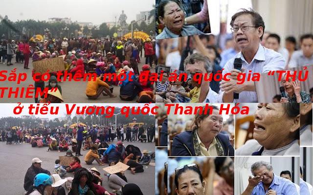 Sắp có đại án Quốc Gia cướp đất của dân ở Thanh Hóa: Máu và nước mắt của dân đã đổ