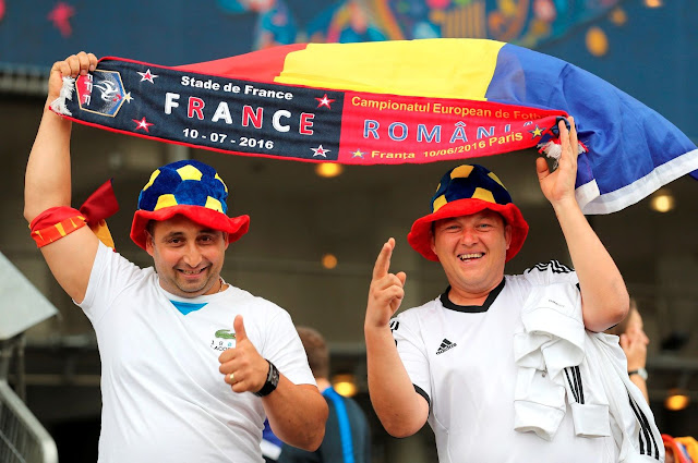 UEFA Euro 2016 Fans Photos - Football Supporters during France vs Romania Group A Match