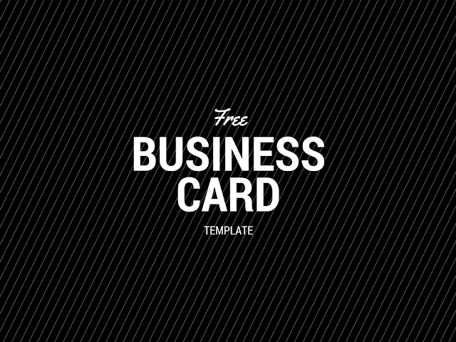 Premium Business Card Template Free Download Freebie : Free Download