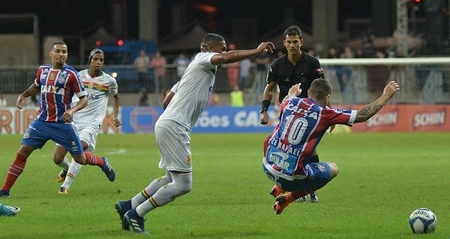 Zé Rafael foi quem mais criou chances, mas não fez gol (Betto Jr. / CORREIO)