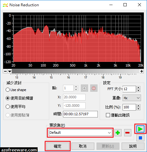 [教學] 使用GoldWave去除雜音或噪音 - v6.32 - 阿榮技術學院