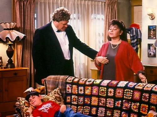 Crochet on TV - Roseanne