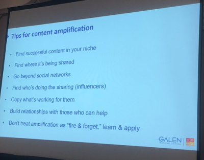 how to amplify your healthcare content