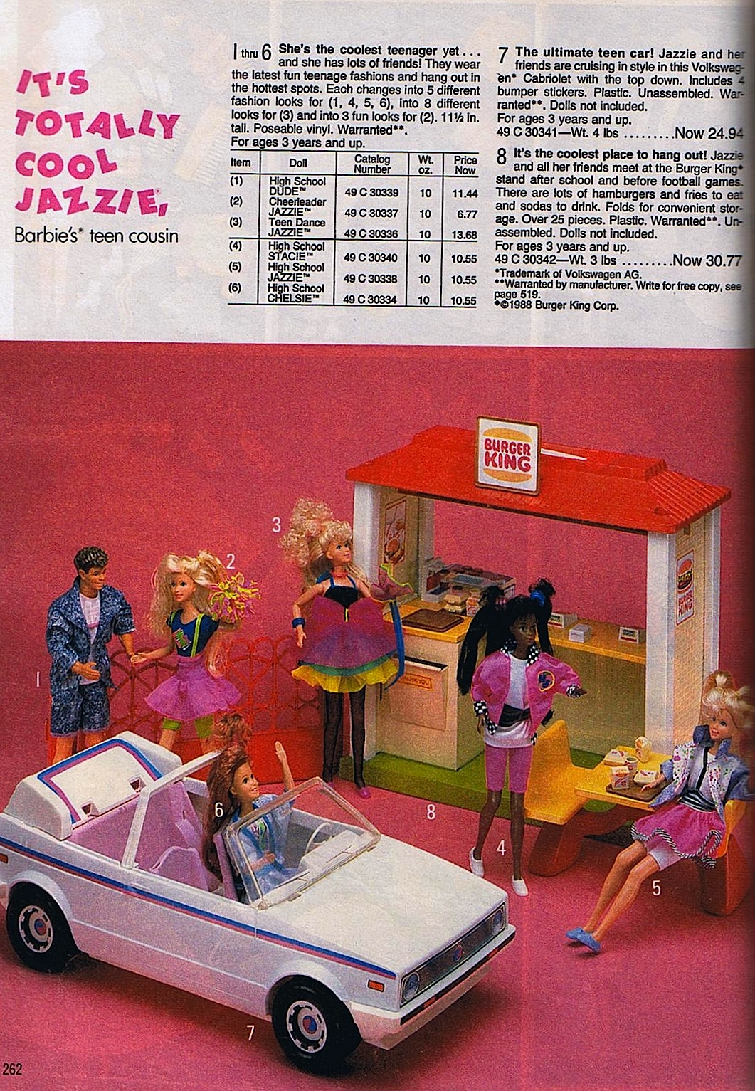jazzie burger king playset  snaxtime