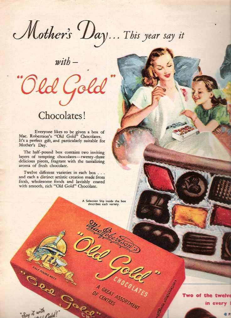 Chocolate Candy Advertisements
