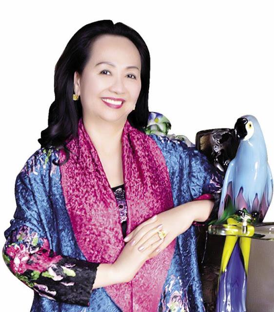 Bà Trương Mỹ Lan nổi danh với Tập đoàn Vạn Thịnh Phát