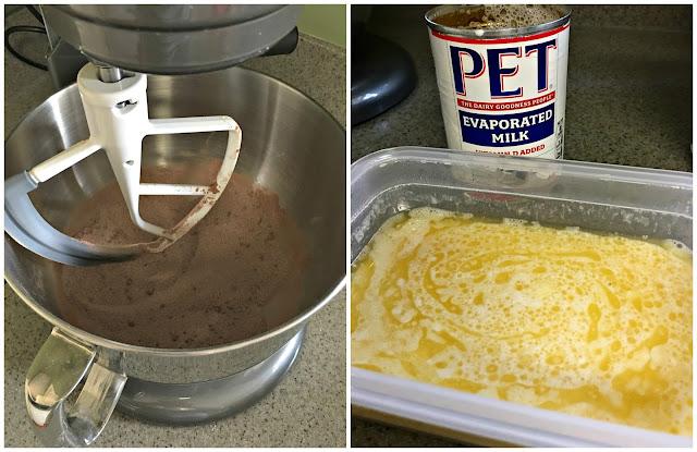 Mini Chocolate Pies - Ingredients