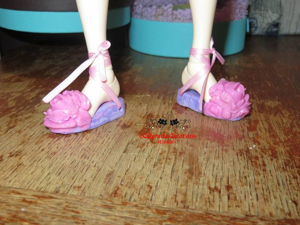 Créas-Fimo -  1 bête des chaussures feuilles (p9) + 1 bûche - Page 10 Diapositive19