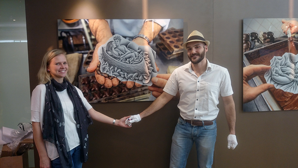 Ben Heine Solo Exhibition at Harbour City in Hong Kong - Love and Chocolate - Photo Report 2015