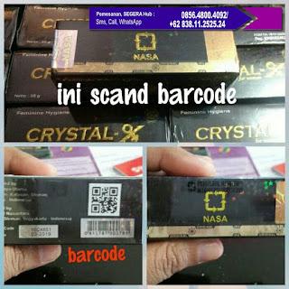 Cristal X, Cristal X Nasa, Cristal X Original