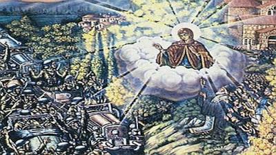 Όταν η Παναγία σταμάτησε τα τανκς των Ναζί στον Ορχομενό (ΦΩΤΟ)
