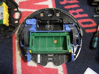 iRobot Roomba 577 組立てて行きます