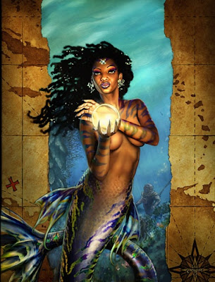 african american mermaid