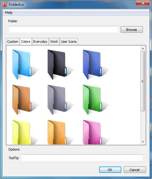 Teorex FolderIco serial