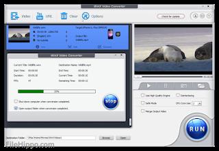 تنزيل برنامج WinX Video Converter لتحويل الفيديو الى صوت