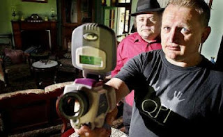 Ghost hunter in fake identity controversy, Ipswich, Queensland, 2010.