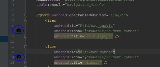 menambah menu di Drawer pada android studio serta mengurangi menu pada drawer menu pada android studio