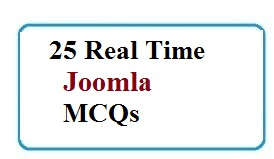 Updated] 25 TOP Joomla Multiple choice Questions and Answers pdf