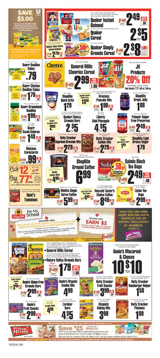 Browse the latest ShopRite Flyer Sale, valid November 18 – November 24, Save with this week ShopRite Ad Circular, printable coupons and bakery & deli offers & deals. Shop the freshest variety of baked goods from the retailer bakery department, available in every store.