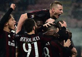 AC Milan Tundukan Torino 1-0