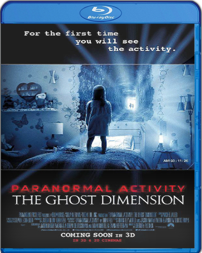 Paranormal Activity: The Ghost Dimension [BD25] [2015] [Latino]
