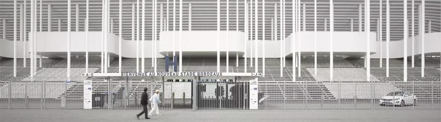 presentazione stadio bordeaux euro 2016