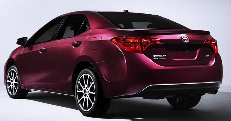 Toyota Corolla 2018 Spec Models
