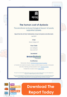 The Human Cost of Dyslexia APPG Report