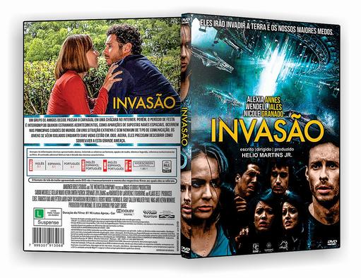 DVD-R Invasao – AUTORADO