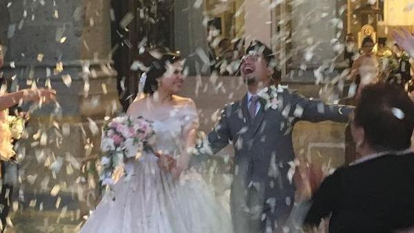 Nyoy Volante marries stage actress girlfriend Mikkie Bradshaw