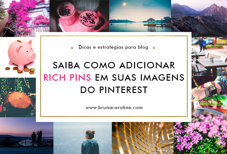 Como adicionar Rich Pins pelo blogger e wordpress