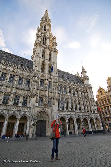 Ayuntamiento Grand Place, por El Guisante Verde Project