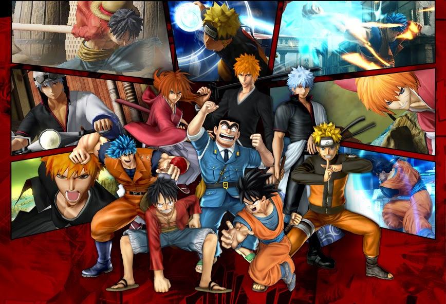 J-Stars Victory Vs, Shounen, Jump, Weekly Shounen Jump, Anime collaboration, games, PS3, Dragon ball, Naruto, One Piece, Gintama, Bleach, Toriko, Rurouni Kenshin