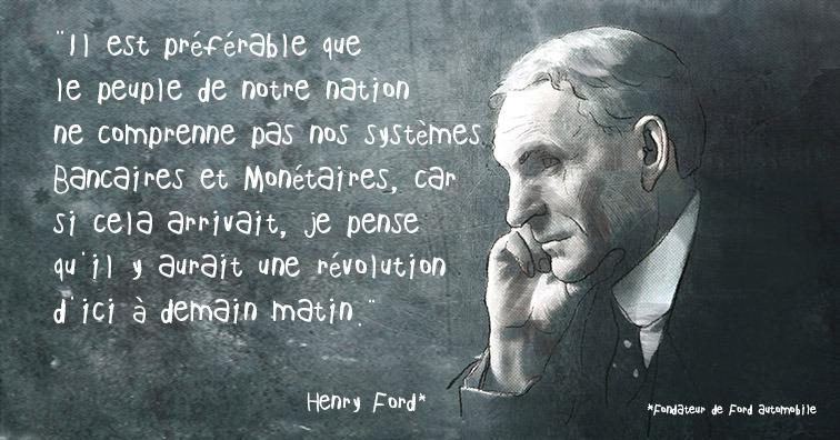 Tout Regard Citation D Henry Ford A Propos Du Capitalisme