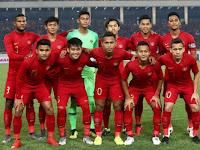 Kembali Kalah, Garuda Muda Gagal Lolos Ke AFC Cup U-23 2020