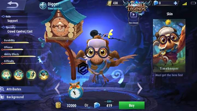 New Hero - Digger