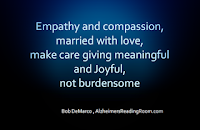 The importance of empathy in dementia care.