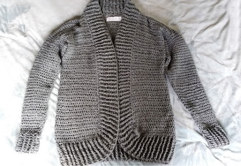 My Very First Crochet Sweater