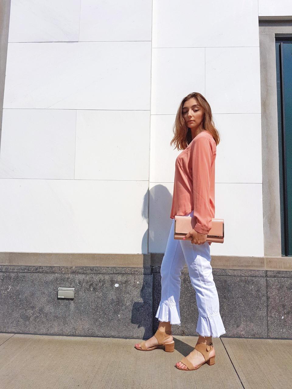 zara, steve madden, fashion, aldo, style, white denim, summer, trends, street style, Montreal, Canada, blogger