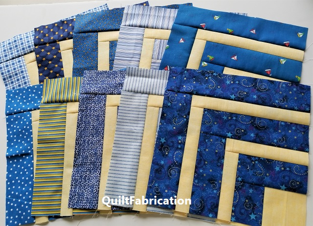 5th Grade quilt blocks from the Precut Primer