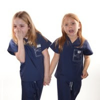 Halloween Costume Ideas for Kids Doctor or Nurse: Kids Scrubs for Pretend Play and Dress Up.