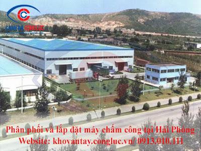 Phân phối và lắp đặt máy chấm công chất lượng tốt cho doanh nghiệp, công ty tại khu công nghiệp Vinashin-Shinec.