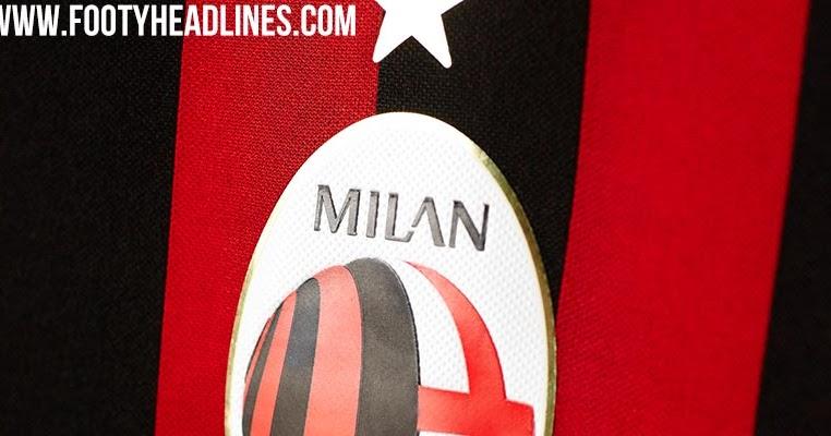 - geleakt Nur Neues Fussball AC-Mailand-Wappen