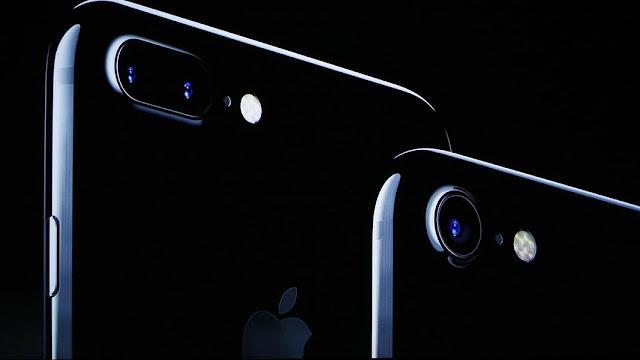 Dettaglio della fotocamera dell'iPhone 7 e 7 Plus