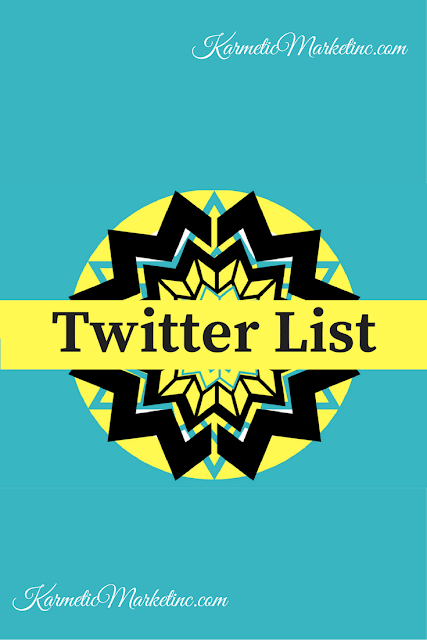 #twitterlist for eventplanners