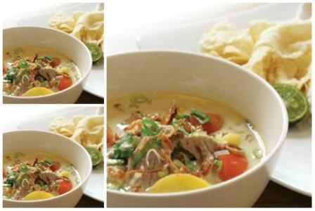 Resep Soto Betawi Daging Jeroan Sapi Kuah Santan County Food