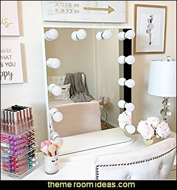 Hollywood Makeup Vanity Mirror with LED Lights